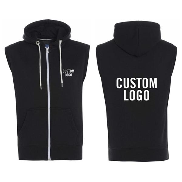 Custom Sleeveless Hoodie
